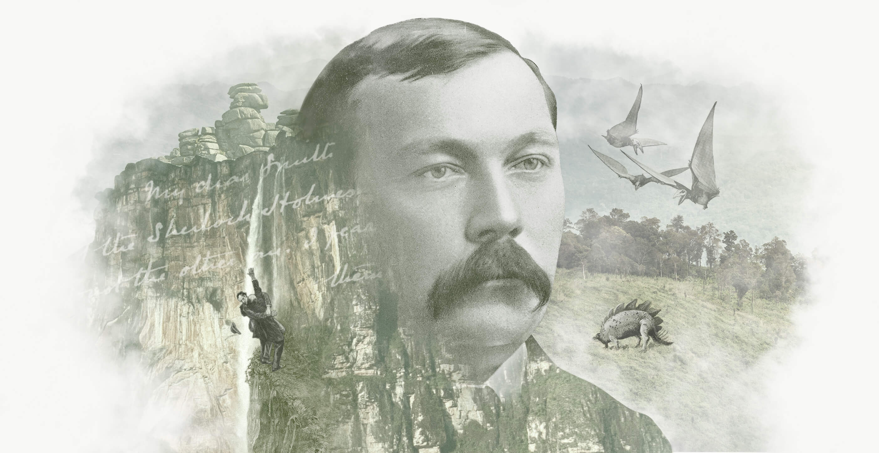 Arthur Conan Doyle The Author Montage