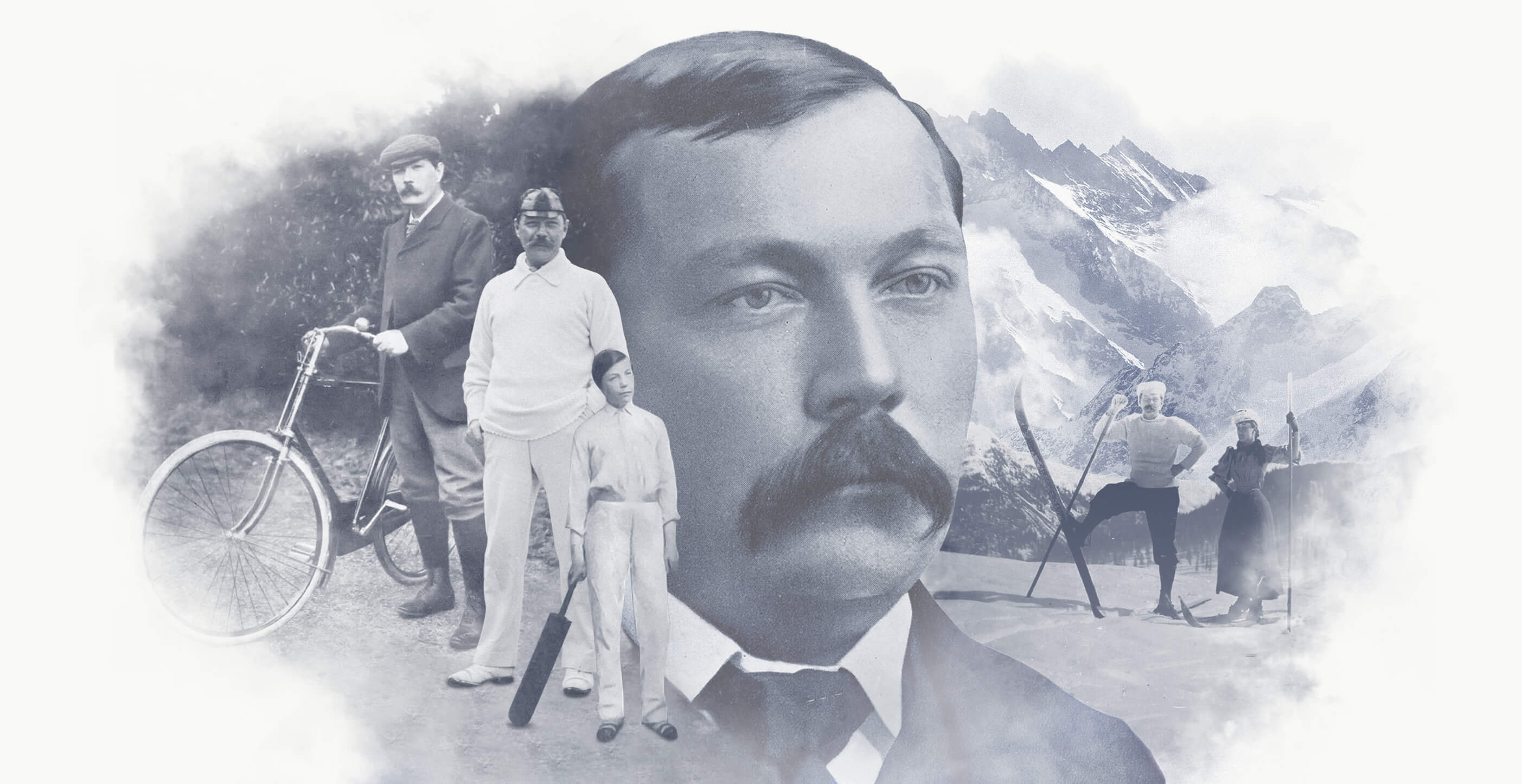 Arthur Conan Doyle The Sportsman Montage